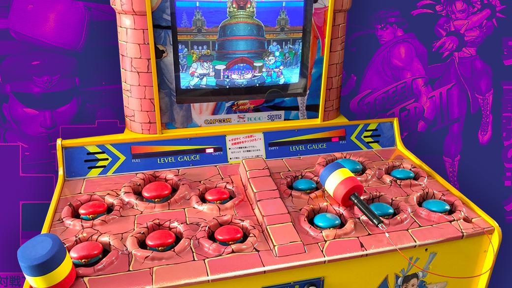 Confirmed Ken Sei Mogura Street Fighter Ii Arcade Machine